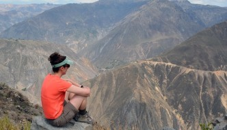 Tiff at Colca Canyon, Peru