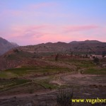 Sunset at Colca Canyon, Peru