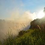 Morning light at Victoria Falls, Zimbabwe, Africa