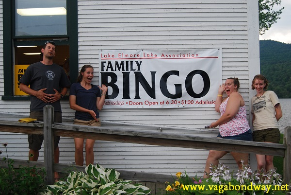 I am not kidding, go to the Elmore Town Bingo. We did it as our team outing the first year.