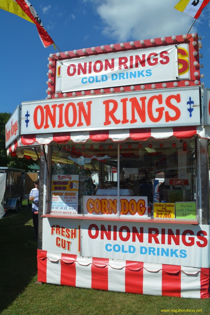 Onion sign Tunbridge Fair