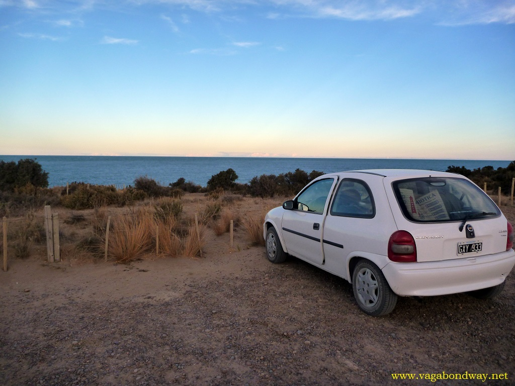 Renting a car to go to cool places