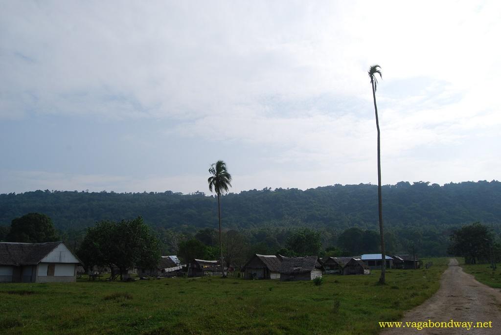 Small village in Vanuatu