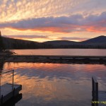 Amazing Sunset at Seyon Lodge in VT