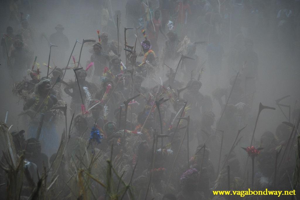 Dust at Tolka Vanuatu
