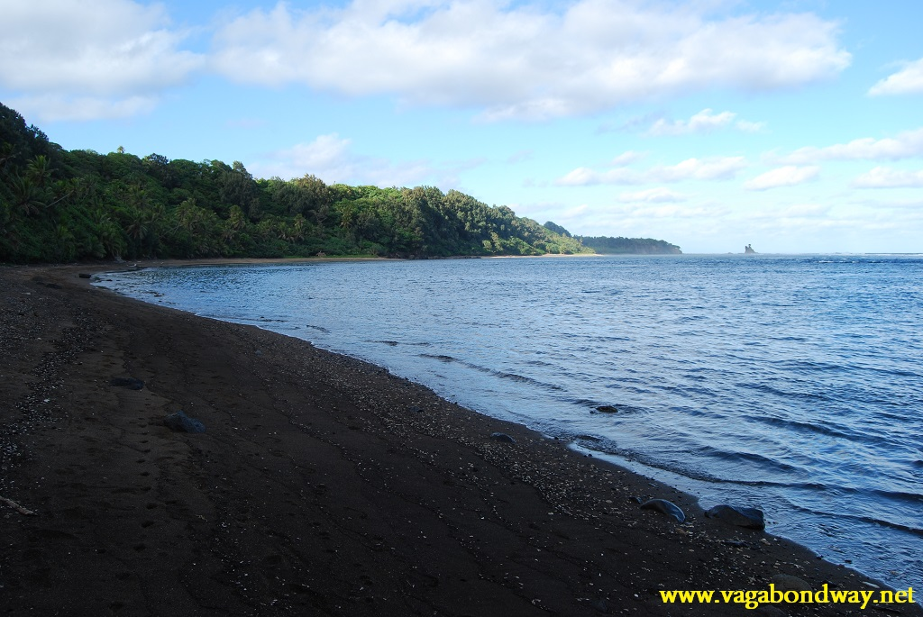 Sunrise beach in Vanuatu