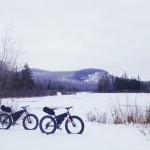 OptOutside on a Fat Bike in Vermont