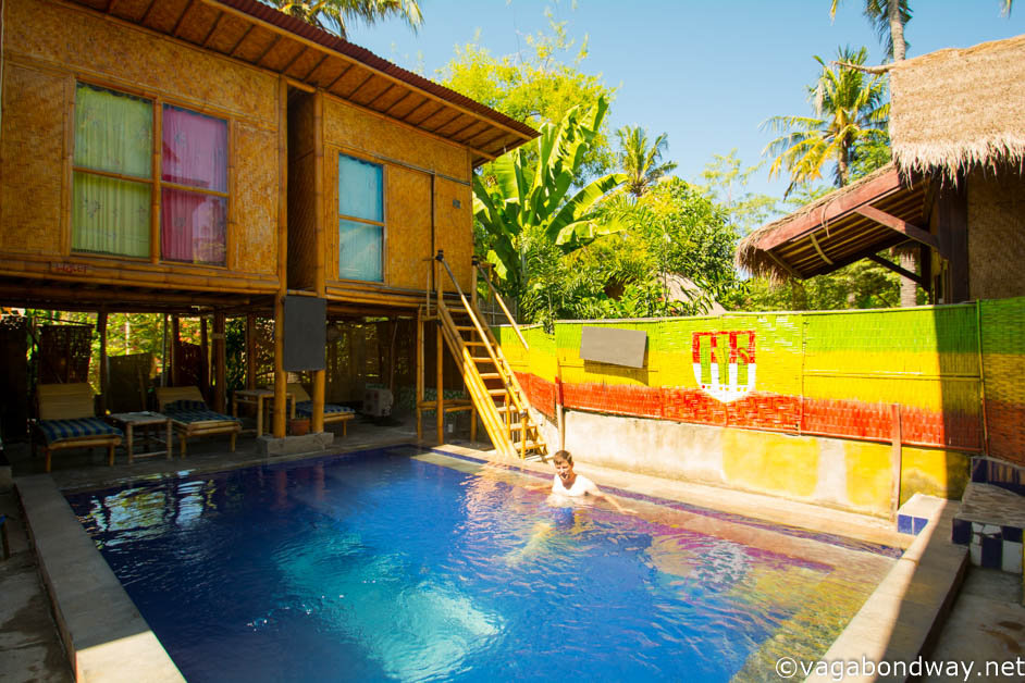 Pool life on Gili Trawangan (1 of 1)