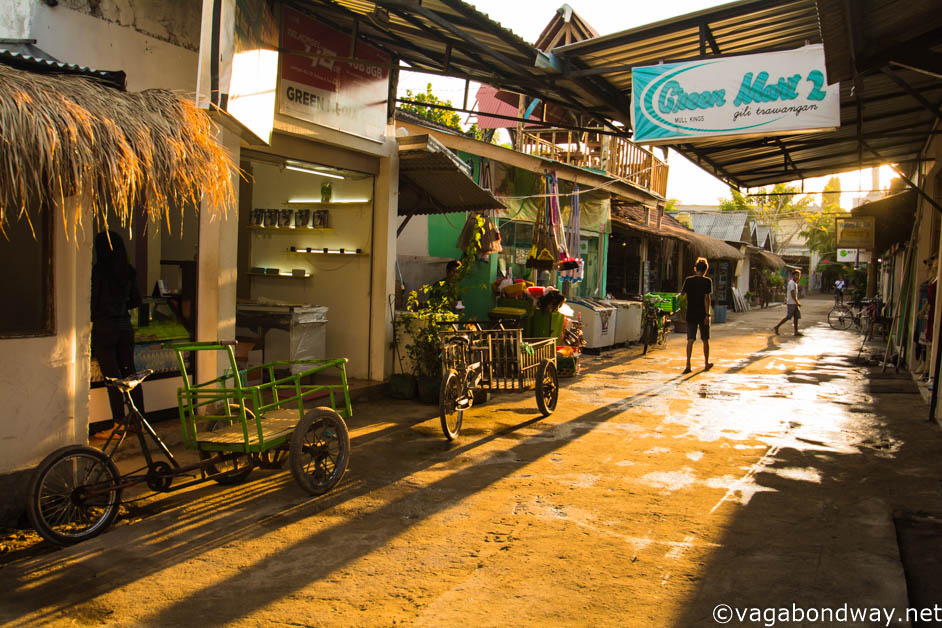 Side street on Gili Trawangan (1 of 1)