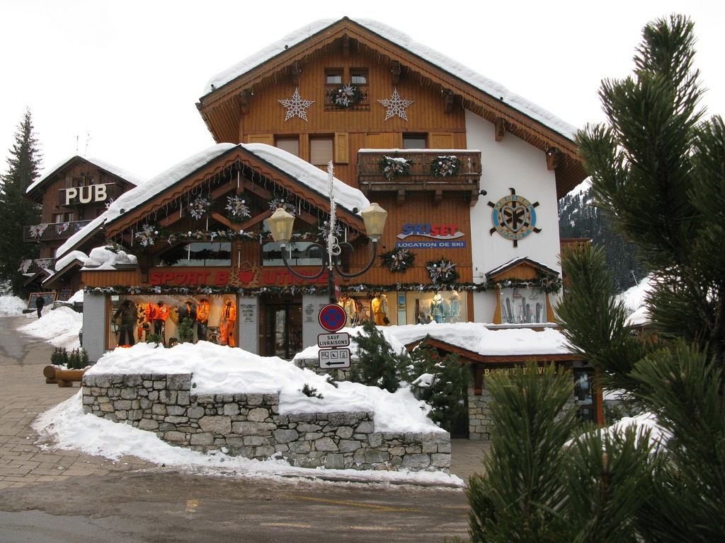 Meribel architecture