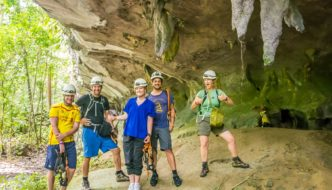 Exciting Racer Cave Adventure in Mulu National Park