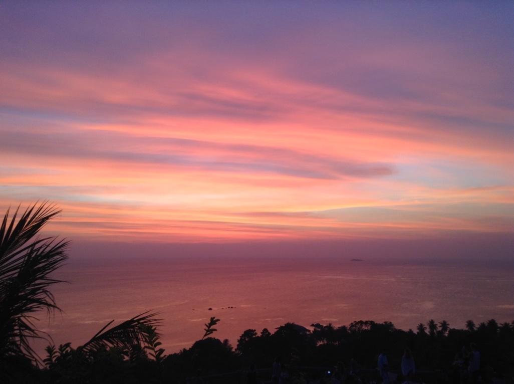 Best sunset- Thailand