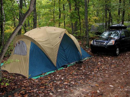 car-tent-camping tips