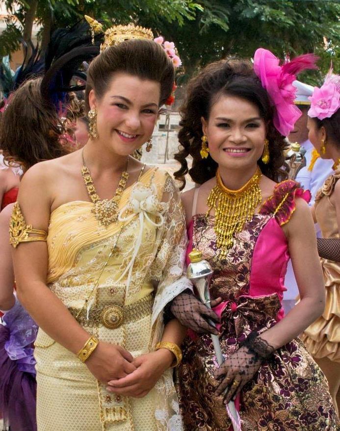 Jessica in Thailand