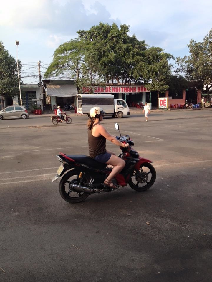 Learning to drive- Vietnam