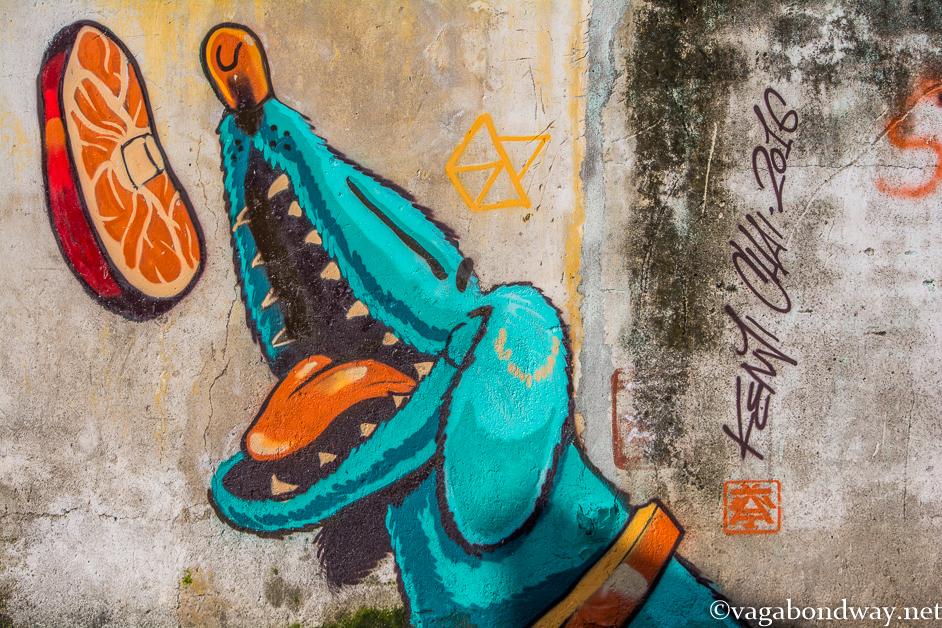 Penang cute street art