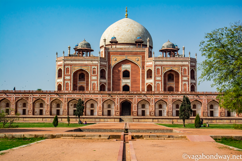 Vagabond Way Humanyun's Tomb Delhi.